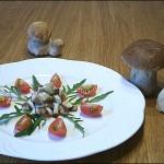 Salat vom Steinpilz