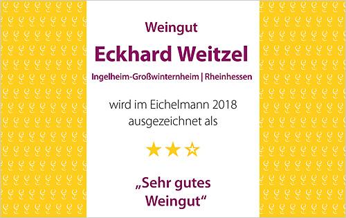 Auszeichnung im Weinführer Eichelmann 2018