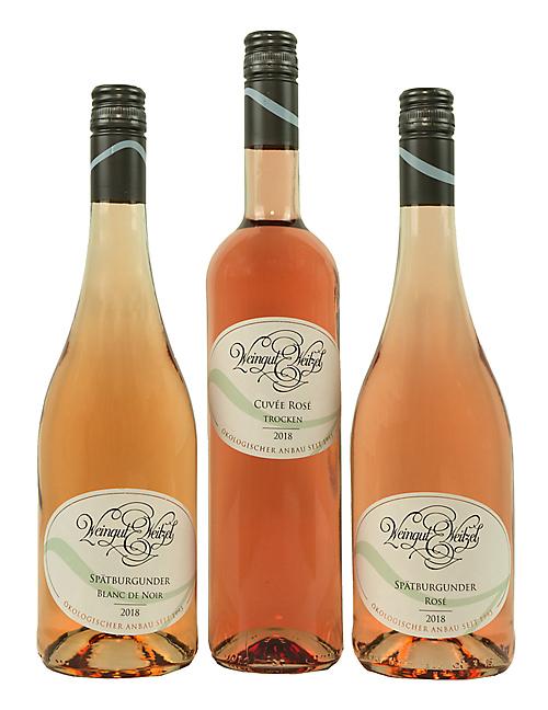 Unser 2018 Rosé-Wein-Trio