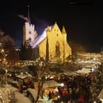 Ingelheim Weihnachtsmarkt 2012 mit Komet
